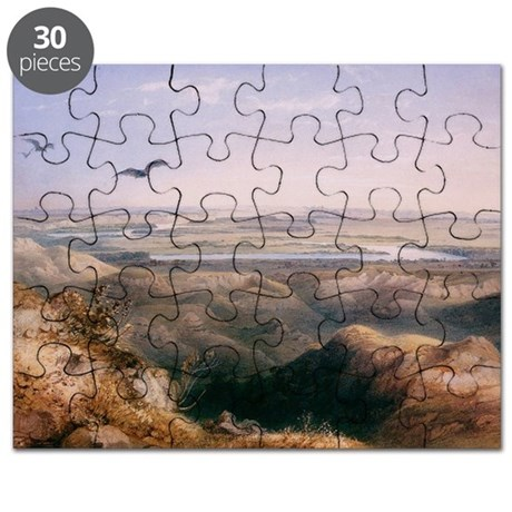 Yellowstone and Missouri Rivers Puzzle