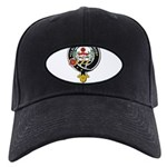 Leavy Clan Crest badge Black Cap