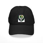 Leslie Clan Crest Tartan Black Cap