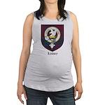 Lindsey Clan Crest Tartan Maternity Tank Top