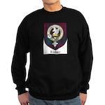 Lindsey Clan Crest Tartan Sweatshirt (dark)