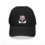 Lindsey Clan Crest Tartan Black Cap