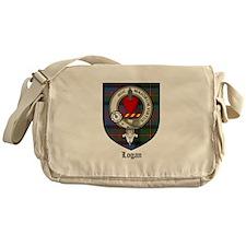 Logan Clan Crest Tartan Messenger Bag