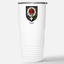 Logan Clan Crest Tartan Stainless Steel Travel Mug