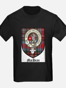 MacBean Clan Crest Tartan T