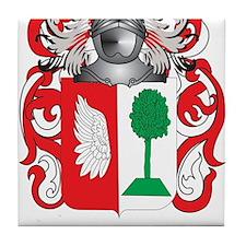 Cisco Coat of Arms Tile Coaster