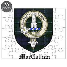MacCallum Clan Crest Tartan Puzzle