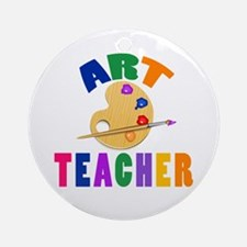 Art Teacher Ornament (Round)