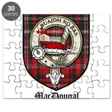 MacDougal Clan Crest Tartan Puzzle