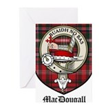 Clan macdougall crest Greeting Cards (20 Pack)