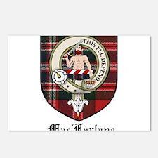 MacFarlane Clan Crest Tartan Postcards (Package of