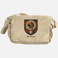 MacIntosh Clan Crest Tartan Messenger Bag
