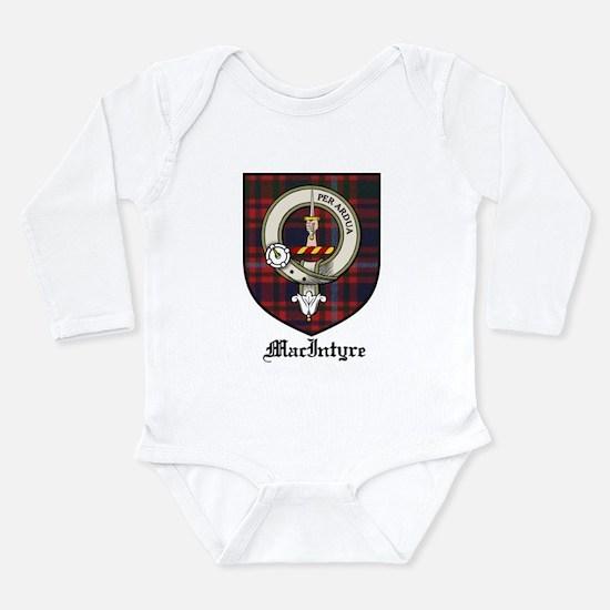 MacIntyre Clan Crest Tartan Onesie Romper Suit