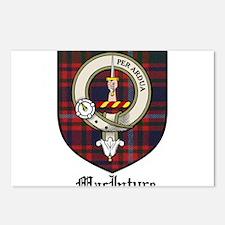 MacIntyre Clan Crest Tartan Postcards (Package of