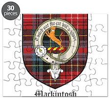 Mackintosh Clan Crest Tartan Puzzle