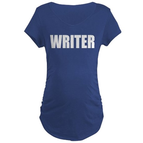 "Castle ""WRITER"" Maternity Dark T-Shirt"