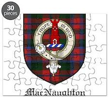 MacNaughton Clan Crest Tartan Puzzle