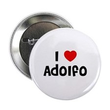 """I * Adolfo 2.25"""" Button (10 pack)"""