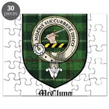 McClung Clan Crest Tartan Puzzle
