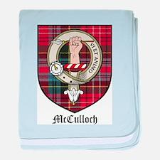 McCulloch Clan Crest Tartan baby blanket