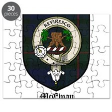 McEwan Clan Crest Tartan Puzzle