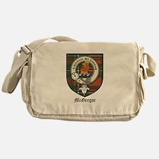 McGregor Clan Crest Tartan Messenger Bag