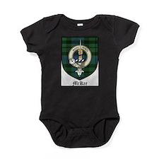 McKee Clan Crest Tartan Baby Bodysuit