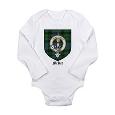 McKee Clan Crest Tartan Long Sleeve Infant Bodysui