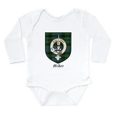 McKee Clan Crest Tartan Onesie Romper Suit