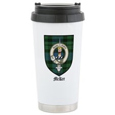 McKee Clan Crest Tartan Travel Mug
