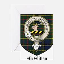 McMillan Clan Crest Tartan Greeting Card