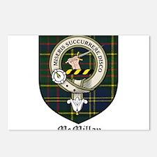 McMillan Clan Crest Tartan Postcards (Package of 8