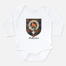 McPherson Clan Crest Tartan Onesie Romper Suit