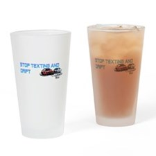 STOPTEXTING AND DRIFT Drinking Glass