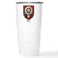 Miller Clan Crest Tartan Travel Mug