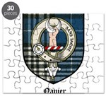 Napier Clan Crest Tartan Puzzle