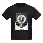 Napier Clan Crest Tartan Kids Dark T-Shirt