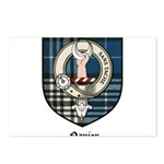 Napier Clan Crest Tartan Postcards (Package of 8)