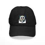 Napier Clan Crest Tartan Black Cap