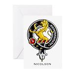 Nicolson.jpg Greeting Cards (Pk of 20)