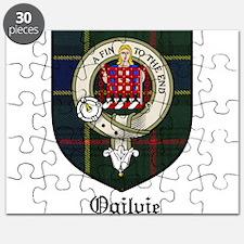 Ogilvie Clan Crest Tartan Puzzle