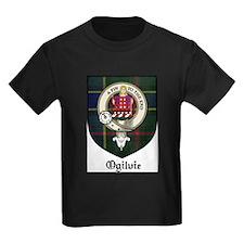 Ogilvie Clan Crest Tartan T