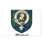 Oliphant Clan Crest Tartan Postcards (Package of 8