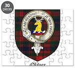 Oliver CLan Crest Tartan Puzzle