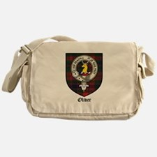 Oliver CLan Crest Tartan Messenger Bag