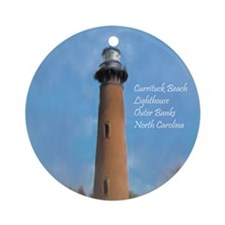 Cute Lighthouse Ornament (Round)