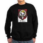Purves Clan Crest Tartan Sweatshirt (dark)