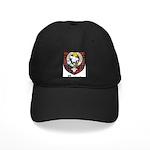 Purves Clan Crest Tartan Black Cap