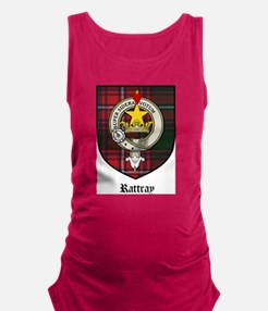 Rattray Clan Crest Tartan Maternity Tank Top