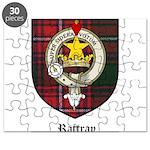 Rattray Clan Crest Tartan Puzzle